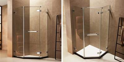 Boyai Glass ShowerRoom AZB-OP-67D31