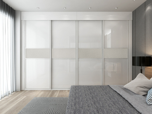 4 Panels Sliding Door Wardrobe azazsl07