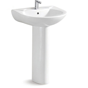 Ceramic Floor Standing Wash Basin AZAZ312